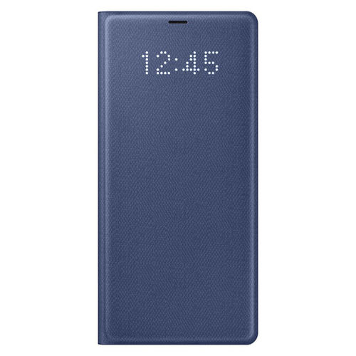 Samsung Galaxy Note 8 LED View Cover & Wallet Flip Case - Navy Blue
